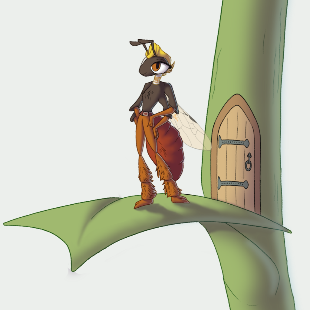 Rita – Native Bee Mascot